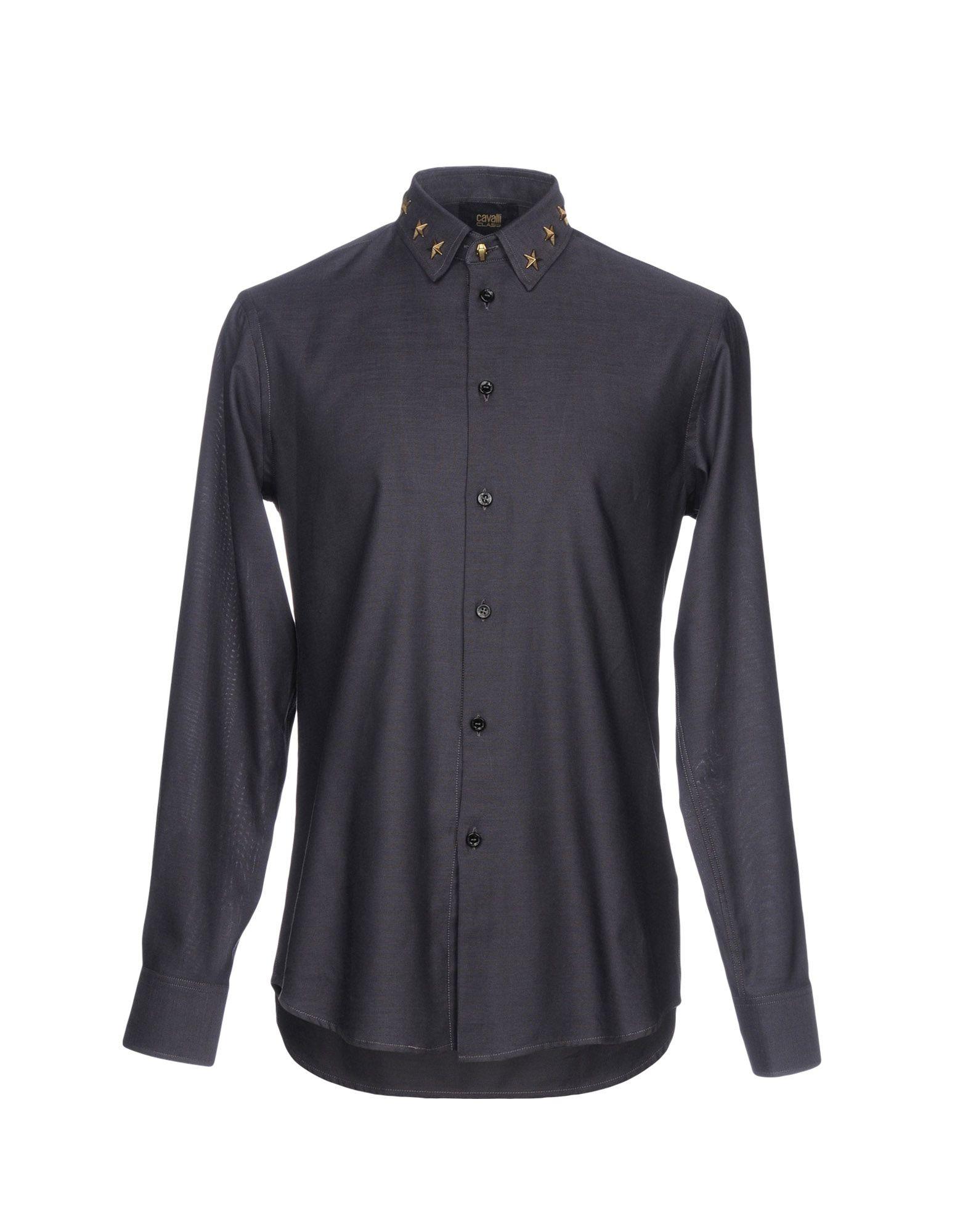 Camicia Tinta Unita Class Roberto Cavalli Uomo - Acquista online su
