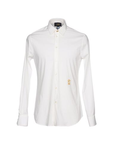 CLASS ROBERTO CAVALLI - Solid colour shirt