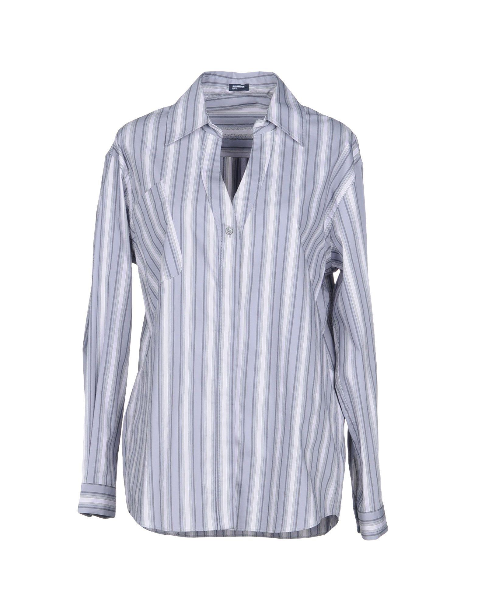Camicia A Righe Jil Sander Navy Donna - Acquista online su D6QnQnif