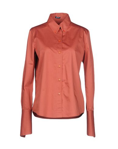 JIL SANDER NAVY Hemden und Blusen einfarbig Großer Verkauf Outlet Günstige Preise Ausgezeichnet kfG3S