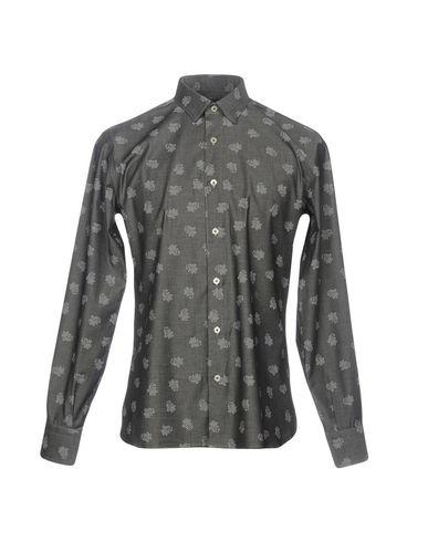 Domenico Skarp Camisa Estampada besøke nye online gratis frakt handle for salg fasjonable IOFo2BC