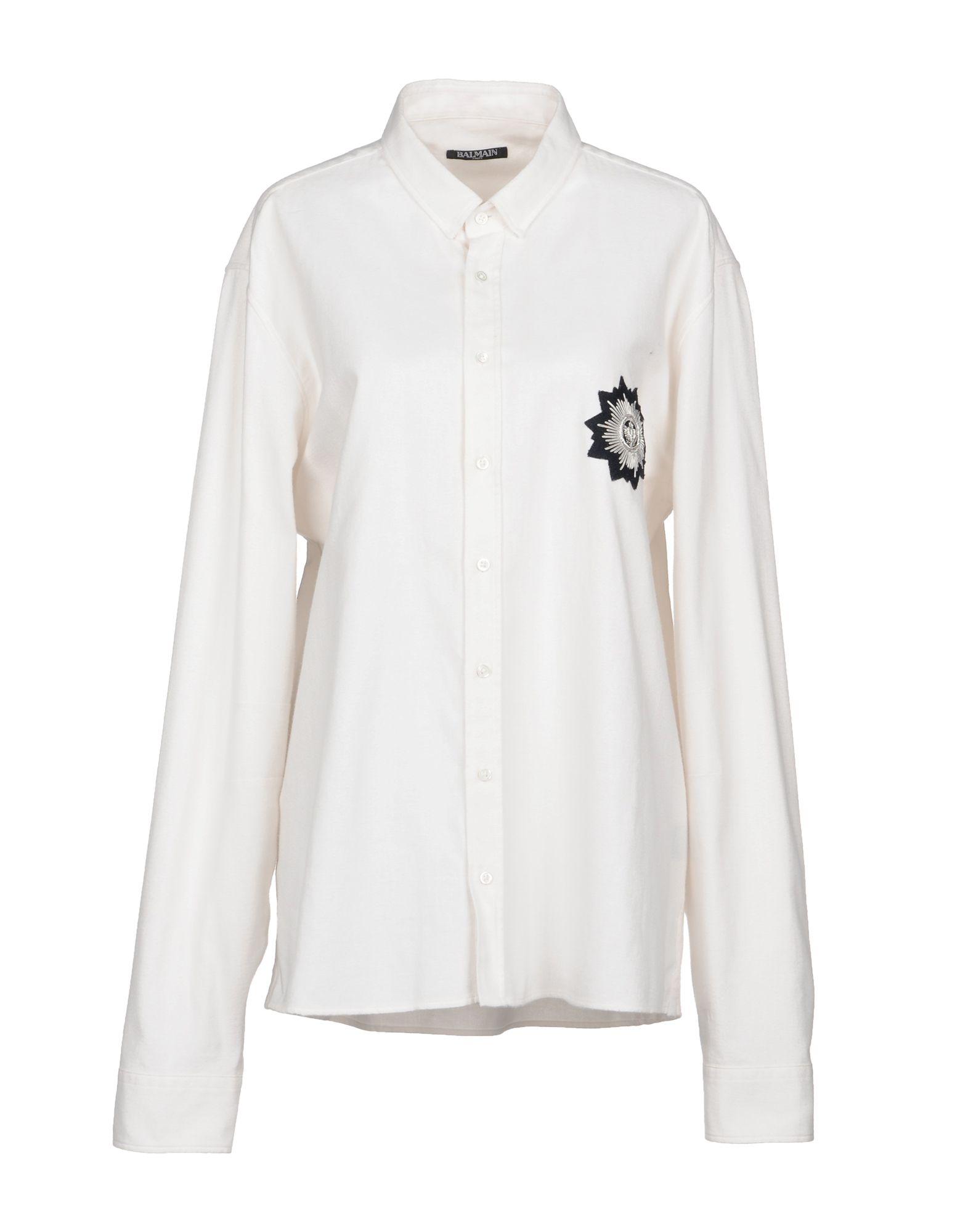 Camicie E Bluse Tinta Unita Balmain Donna - Acquista online su YlSfLnV75