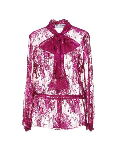 BALENCIAGA - Lace shirts & blouses