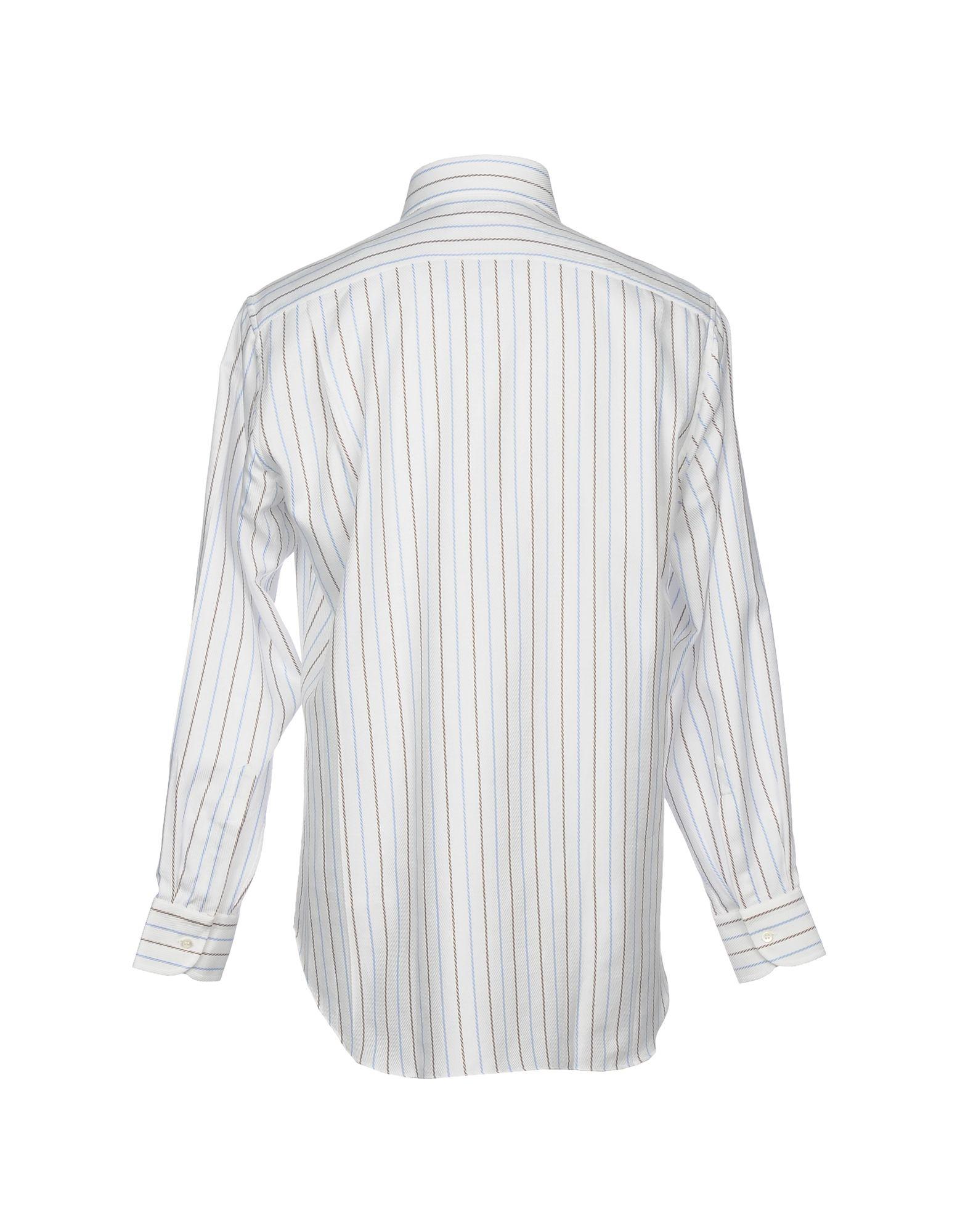 Camicia A Righe Gianmarco Bonaga Bonaga Bonaga Uomo - 38734797UH b14a22