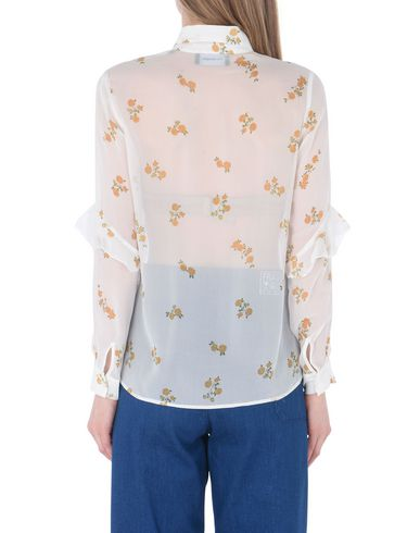Den Kooples Popcorn Flower-print Shirt Camisas Y Blusas De Flores salg rabatter frakt fabrikkutsalg online med paypal rabatt begrenset opplag kjøpe STn1ip