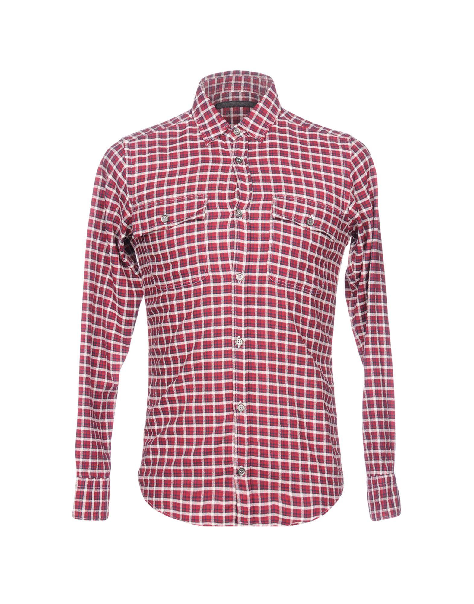 Camicia A Quadri Messagerie Uomo - Acquista online su