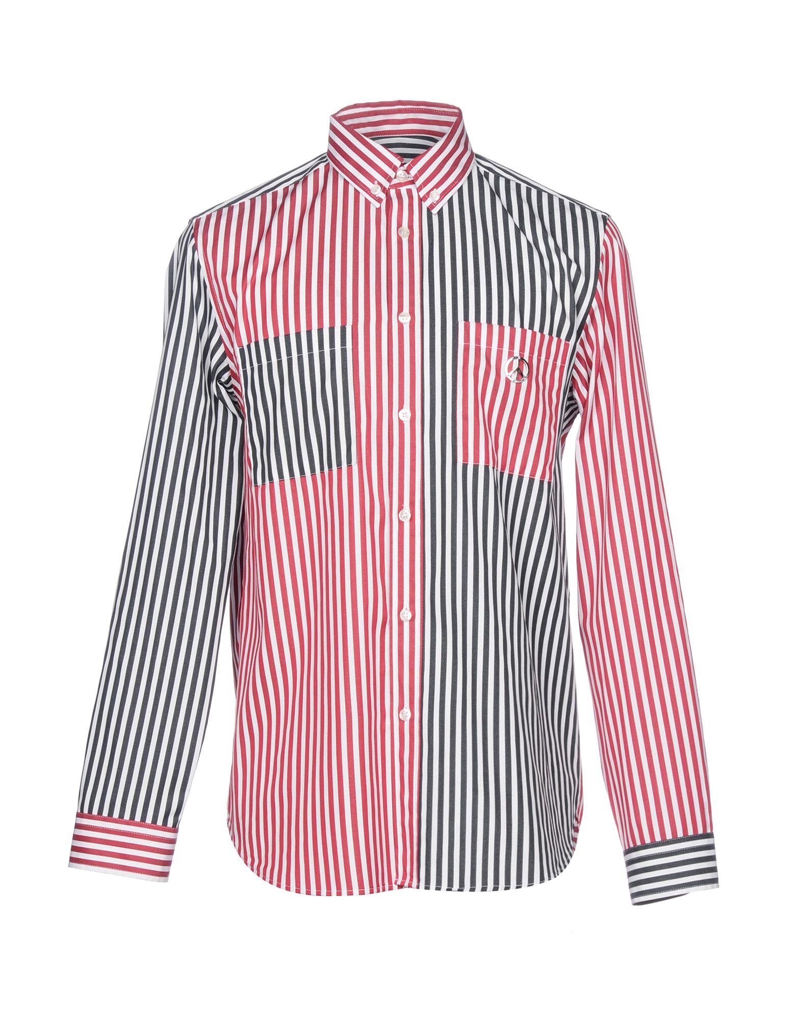 Camicia A Righe Love Moschino Uomo - Acquista online su