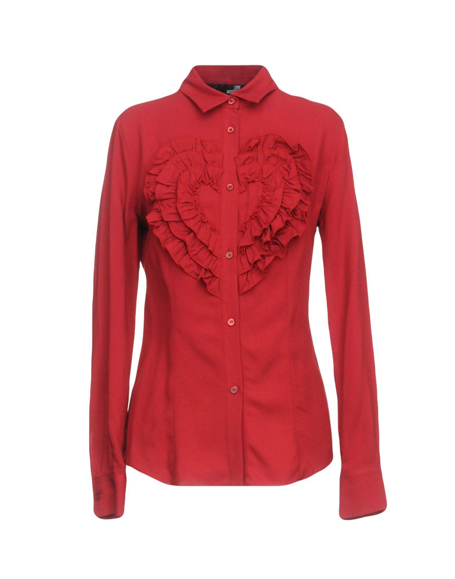 Camicie E Bluse Tinta Unita Love Moschino Donna - Acquista online su fLnzRS