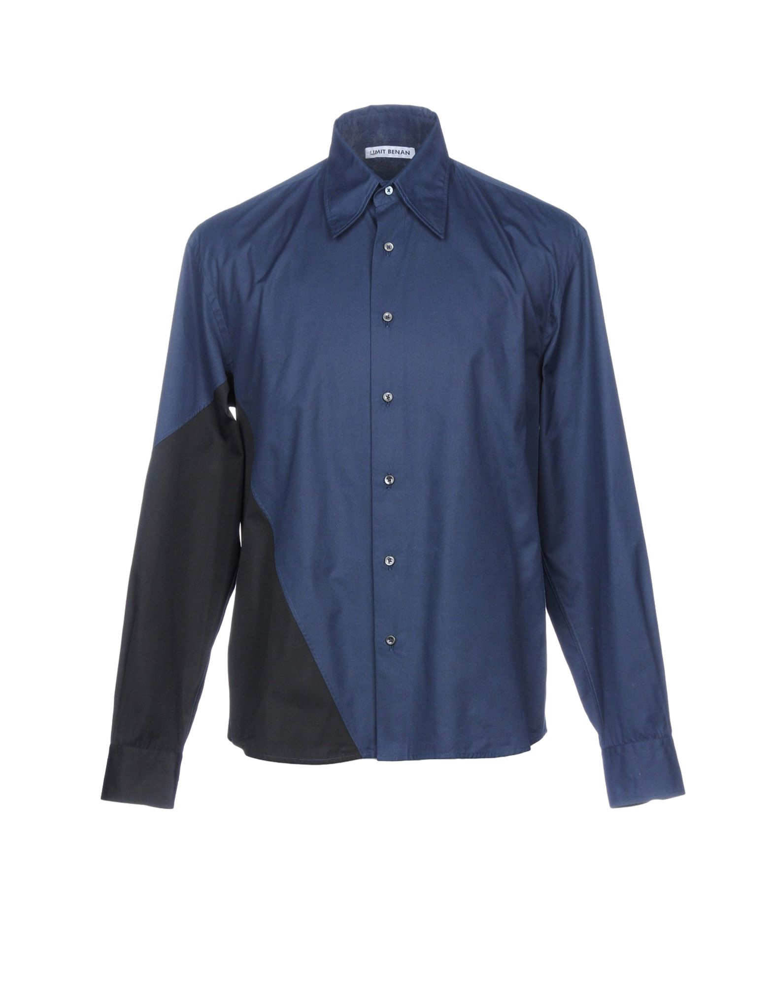 Camicia Tinta Unita Umit Benan Uomo - Acquista online su