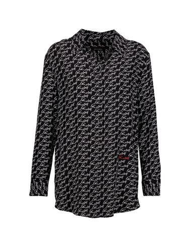 KATE MOSS EQUIPMENT Patterned Shirts & Blouses in Black