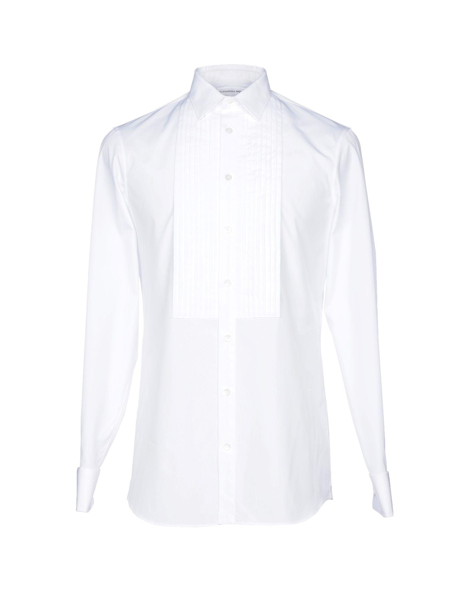 Camicia Tinta Unita Alexander Mcqueen Donna - Acquista online su