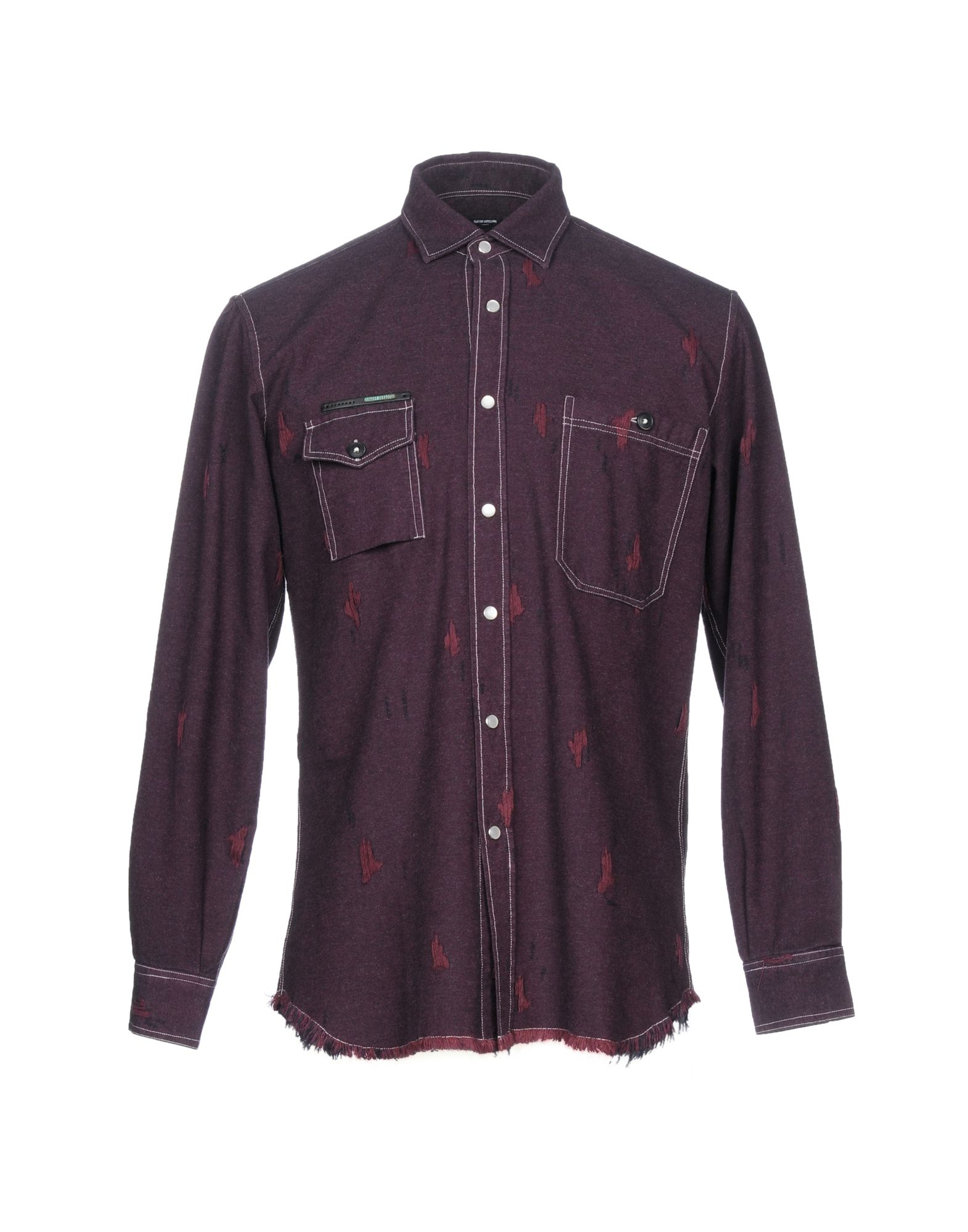 Camicia Tinta Tinta Camicia Unita Takeshy Kurosawa Uomo - 38736587OV 3242ef