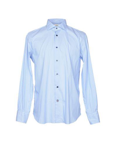 Mazzarelli Stripete Skjorter salg komfortabel billig pris kjøpe billig Billigste nye lavere priser FnGAJ