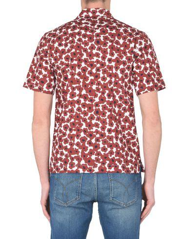 WOOD WOOD Brandon shirt Mens woven shirt Hemd mit Muster In Deutschland Zu Verkaufen jjuxIcHR