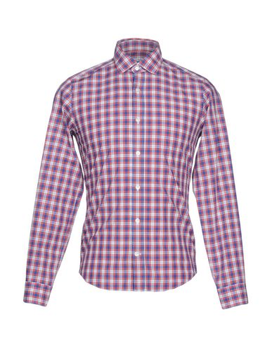 for salg 2014 Mastai Ferretti Rutete Skjorte på nett salg 2015 nye 5SQu8