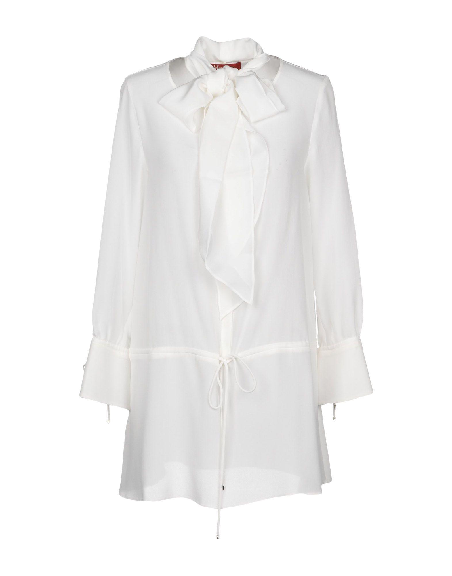 Camicie E Bluse In Seta Max Mara Studio Donna - Acquista online su C7D5S8F