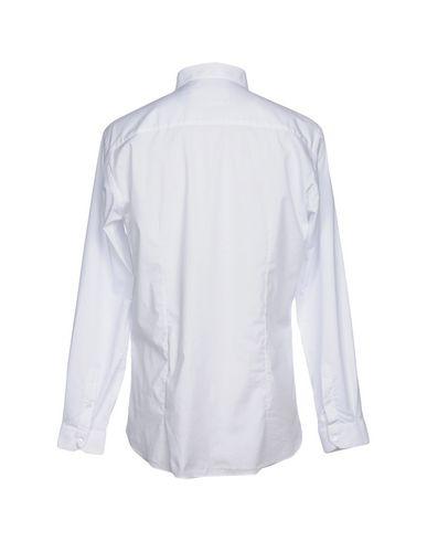 Unie Couleur De beaucoup Chemise Blanc qtETzT