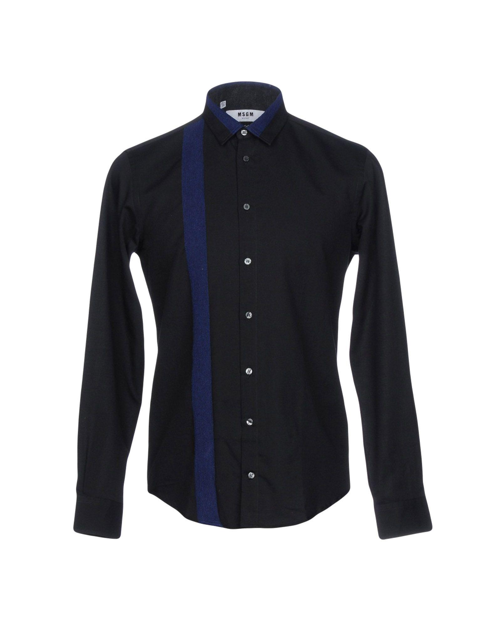 Camicia Tinta Unita Msgm Uomo - Acquista online su