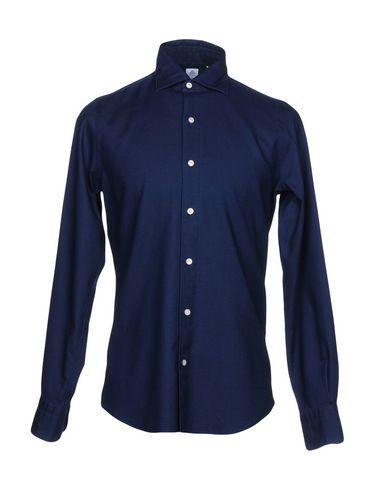 komfortabel billig pris gratis frakt Finamore Vanlig Skjorte 1925 mvDQY