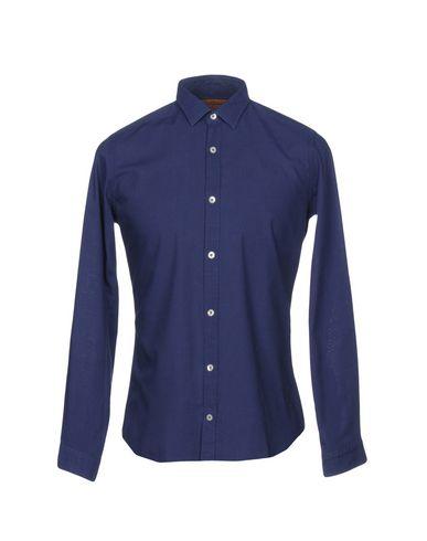 Gabardin Vanlig Skjorte gratis frakt valg 6oGf4en2G4