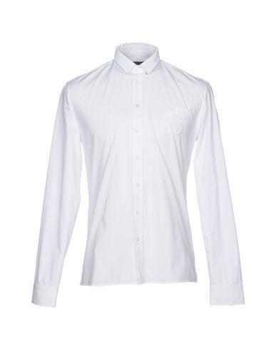 BALMAIN - Camicia tinta unita