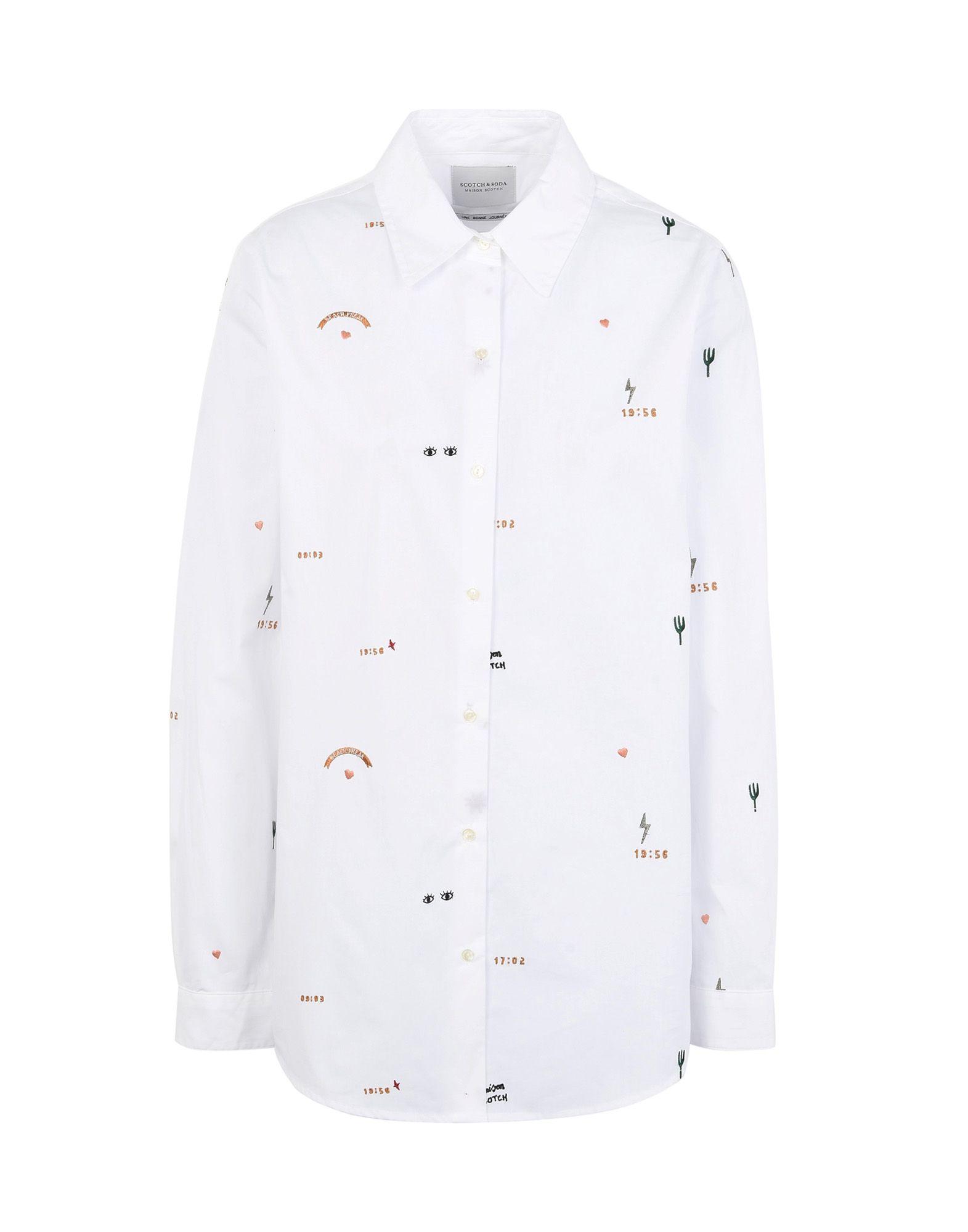 Camicie E Bluse Tinta Unita Scotch & Soda Donna - Acquista online su m8TcKb