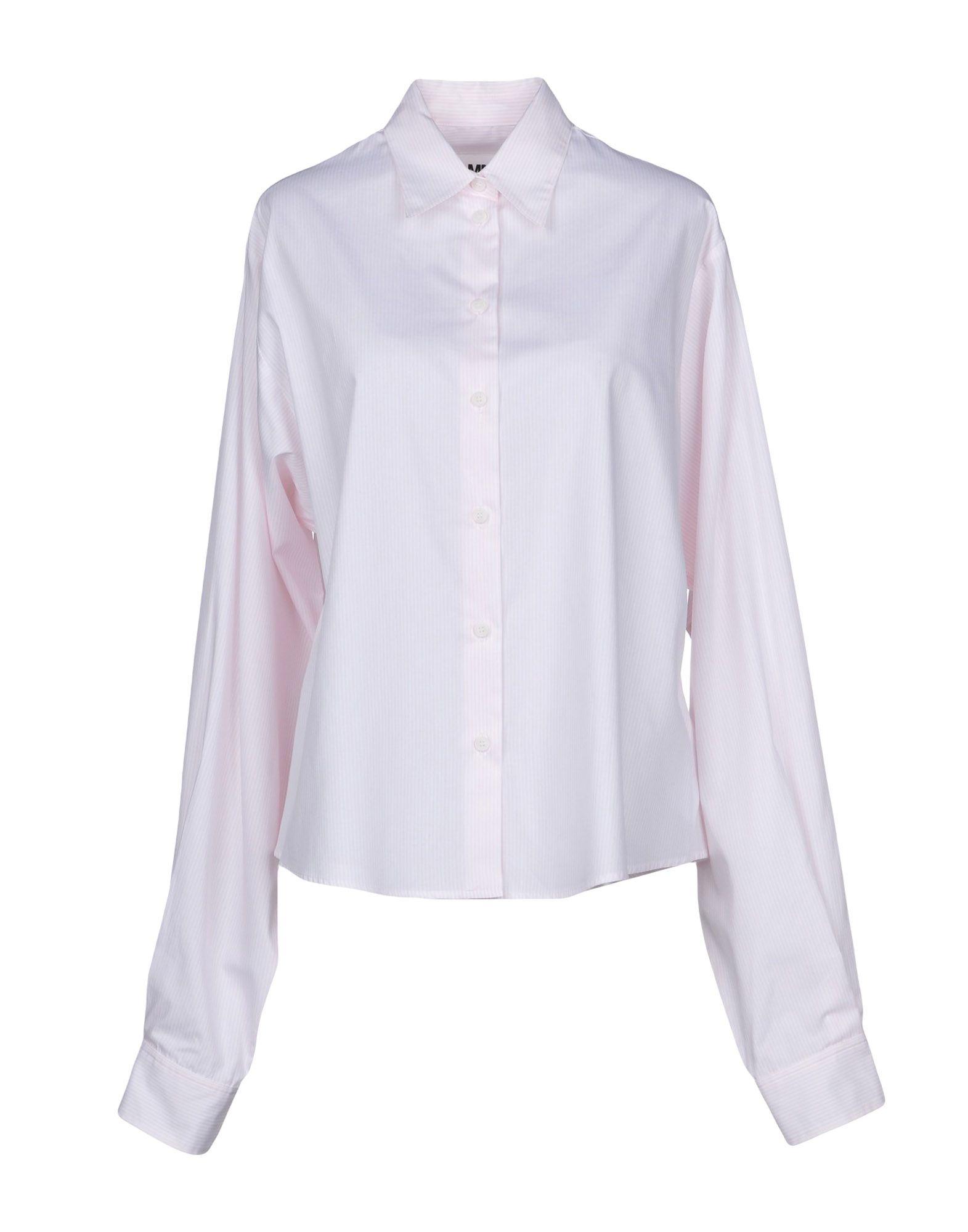 Camicia A Righe Mm6 Maison Margiela Donna - Acquista online su bGd4EY