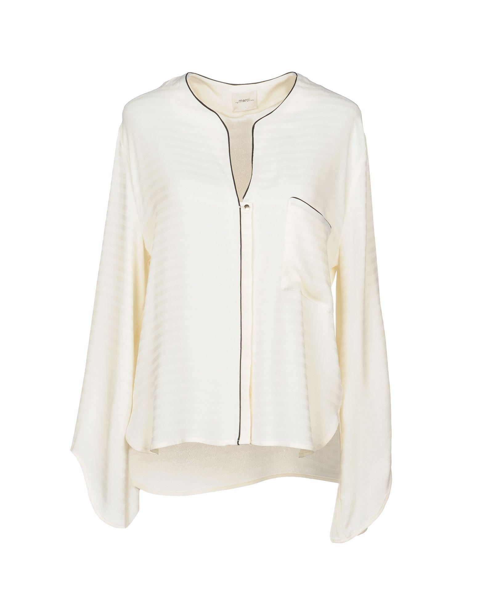 Camicie E Bluse Tinta Unita ..,Merci Donna - Acquista online su