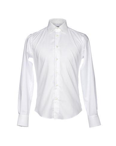 BRIAN DALES - Solid colour shirt