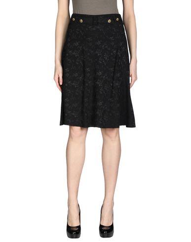 MAYLE Knee Length Skirt in Black