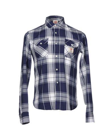 Billig Verkauf Wirklich Outlet Offizielle Seite FRANKLIN & MARSHALL Kariertes Hemd Erschwinglicher günstiger Preis Outlet-Countdown-Paket Modisch wRAAo