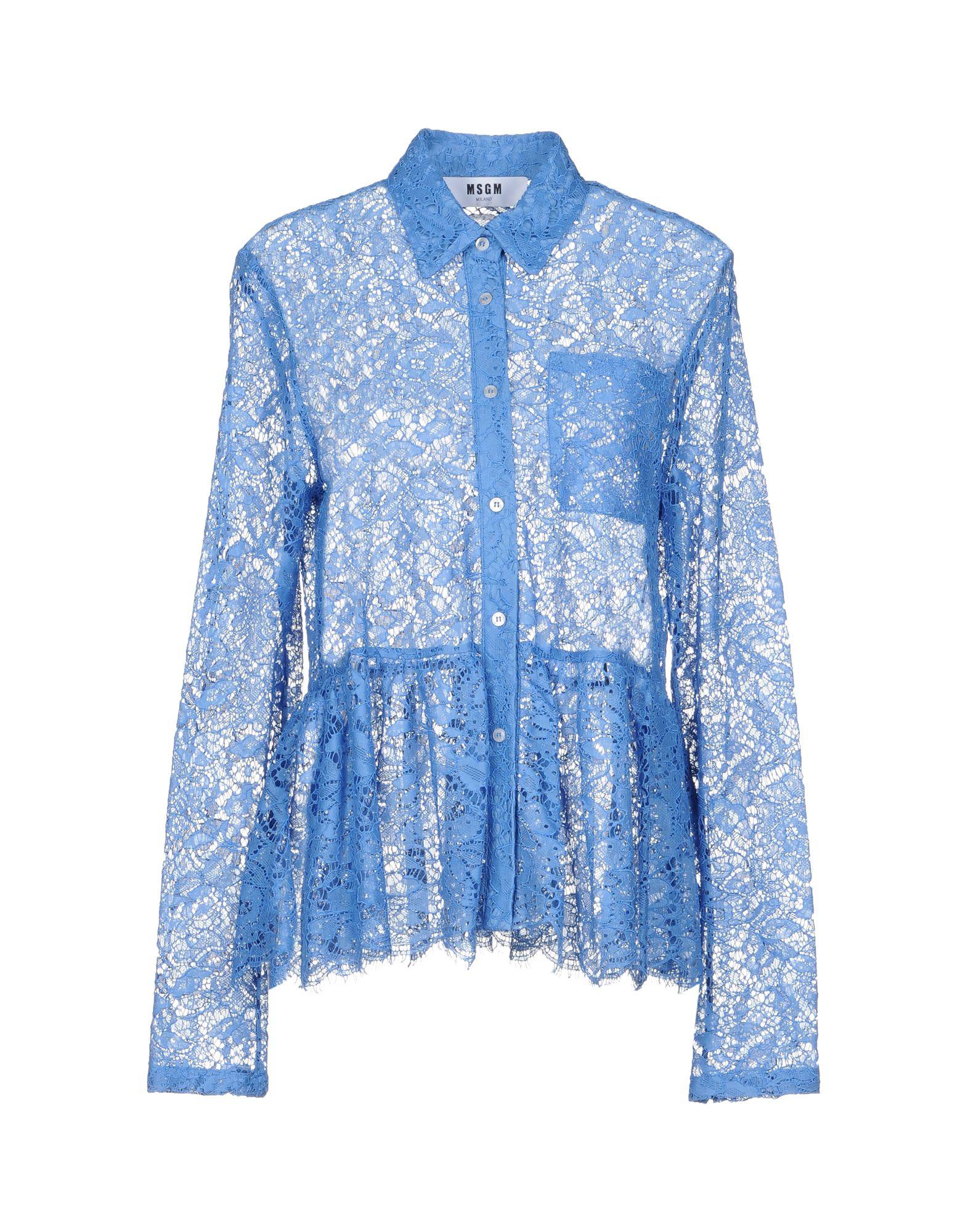 Camicie E Bluse In Pizzo Msgm Donna - Acquista online su T9Gax