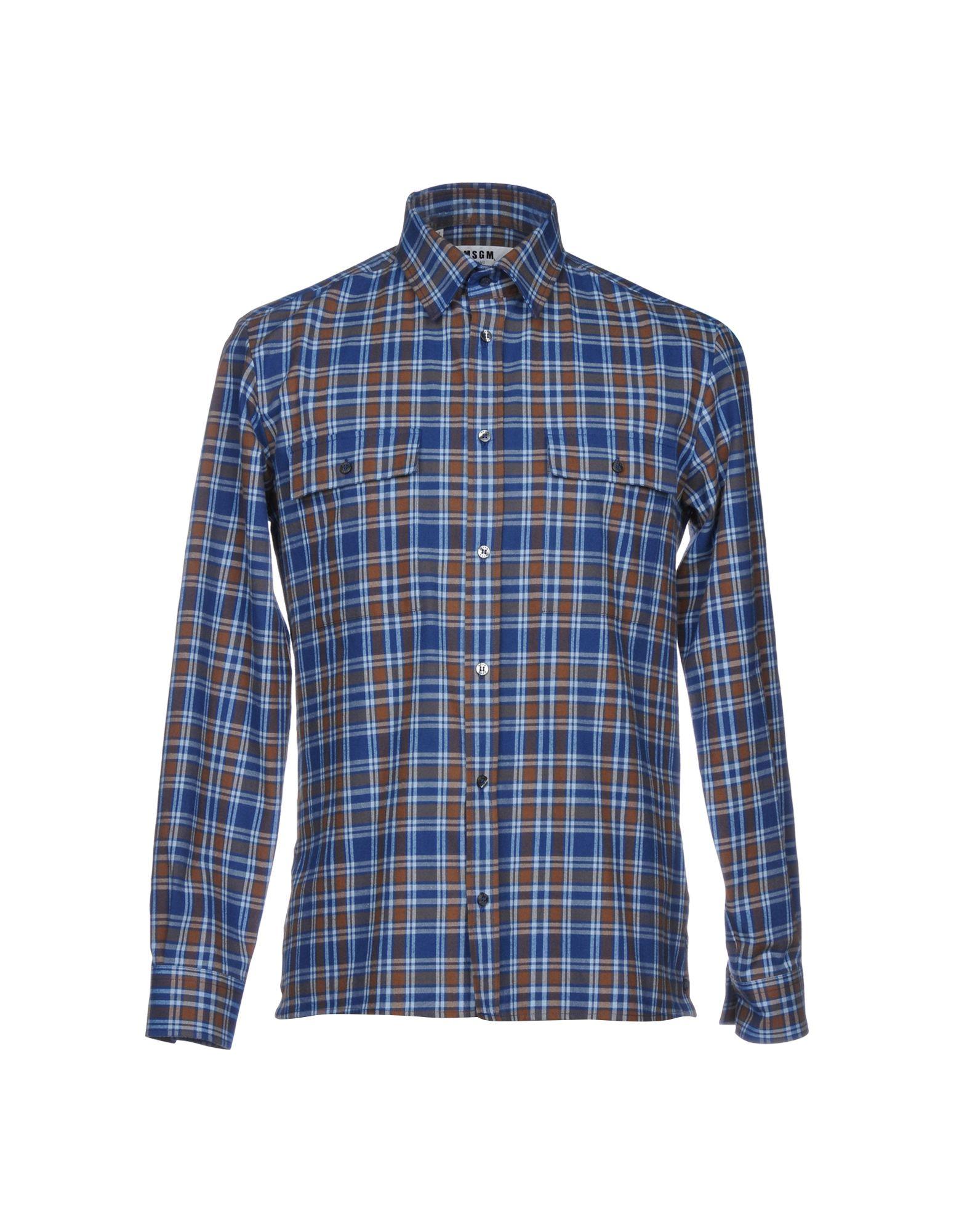 Camicia A Quadri Msgm Donna - Acquista online su