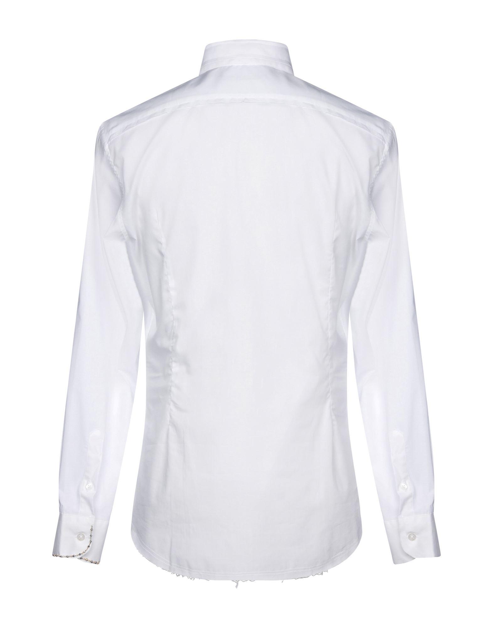 Camicia Tinta Tinta Camicia Unita Daniele Alessandrini Uomo - 38742279OM 845aa8