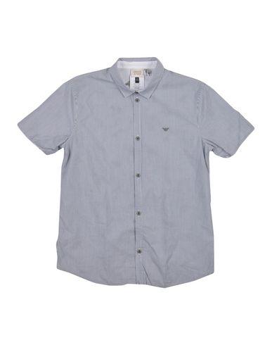 fb42cf3a Armani Junior Striped Shirt Boy 9-16 years online on YOOX Norway