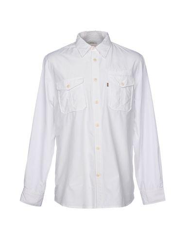 Unie Aigle Couleur Blanc Chemise De SFTqHwR