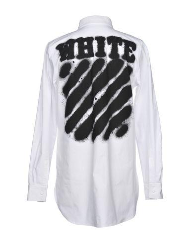 OFF-WHITE�?Einfarbiges Hemd Freies Verschiffen Größte Lieferant MkoPex
