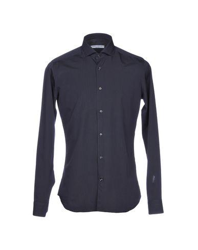 Caliban Stripete Skjorter populære online utløp stort salg uDNbX9