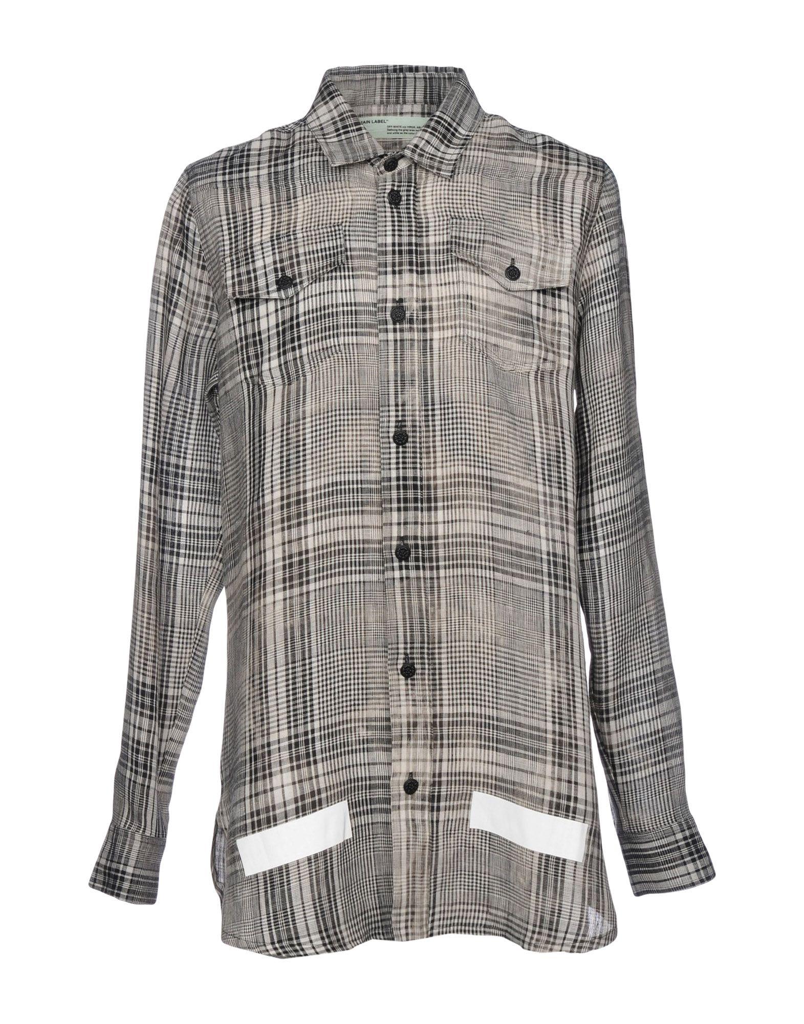 Camicia A Quadri Off-White™ Donna - Acquista online su