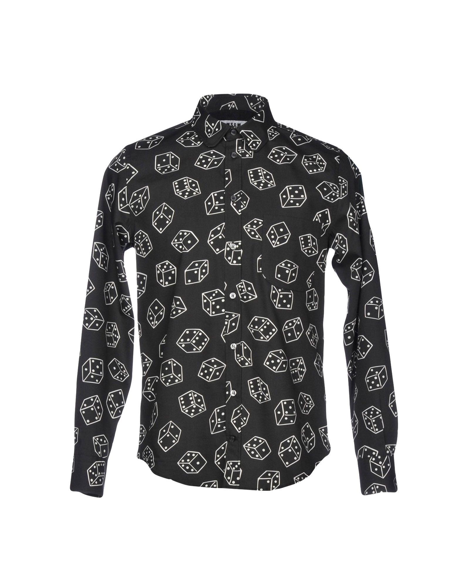 Camicia Fantasia Msgm Msgm Msgm Uomo - 38743636WG ba0e84