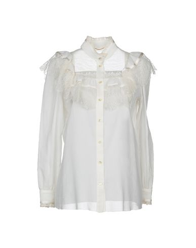 SAINT LAURENT - Lace shirts & blouses