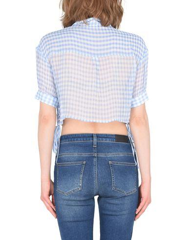 utløp topp kvalitet nicekicks Den Kooples Silke Musselin Skjorte Med Vichy Print Camisa De Cuadros GUOeu3x