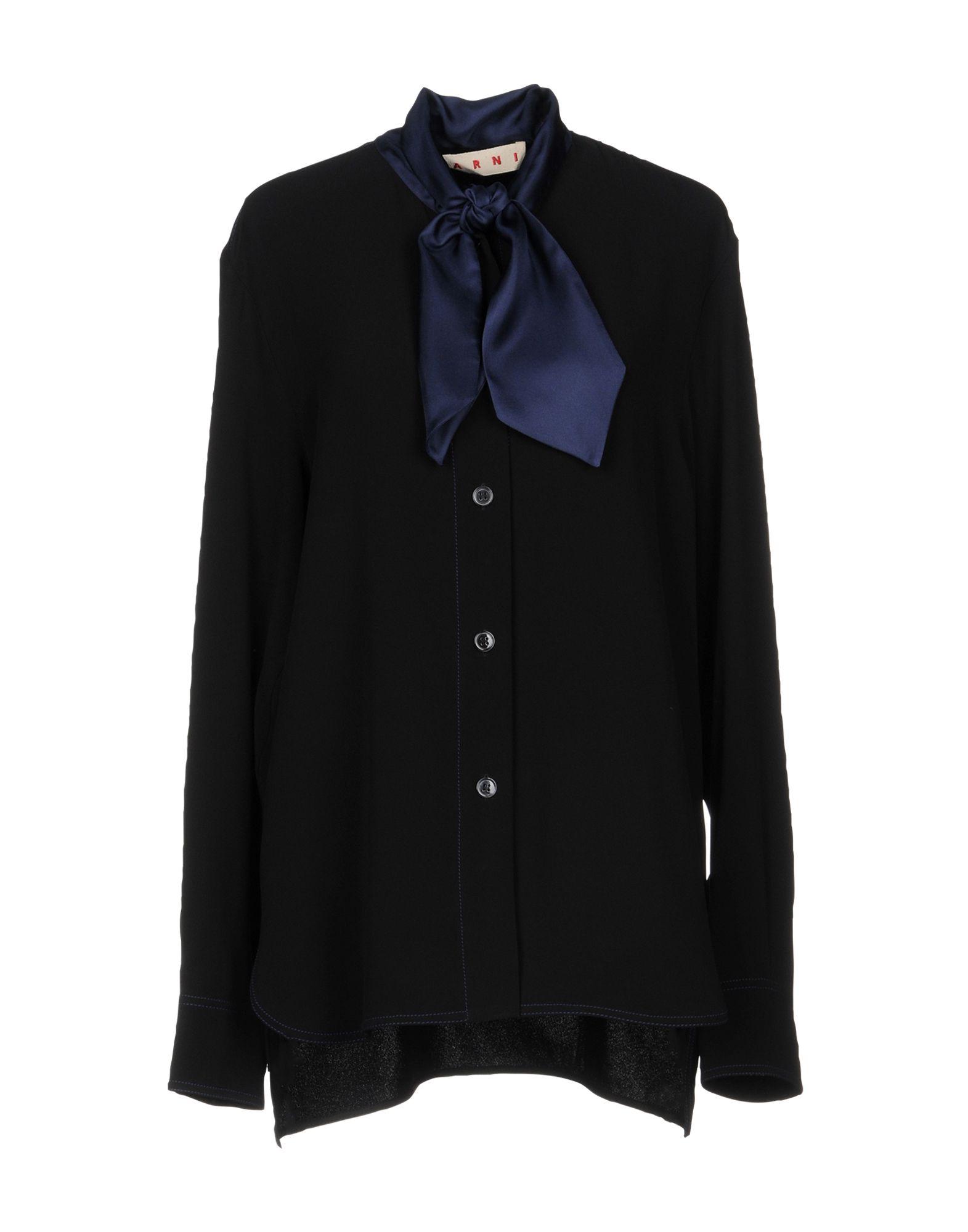 Camicie E Bluse Con Fiocco Marni Donna - Acquista online su 9ntJFE7Q