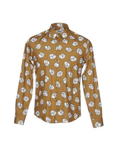 billig salg kjøpe Trykt Skjorte Msgm shopping på nettet rabatt gode tilbud billig salg profesjonell lagre online 3bmmh9jzQH