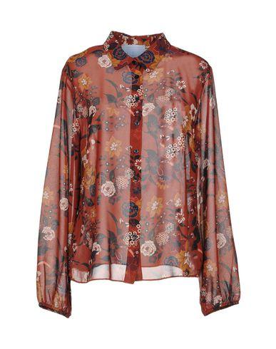 MIA SULIMAN Camisas y blusas de flores