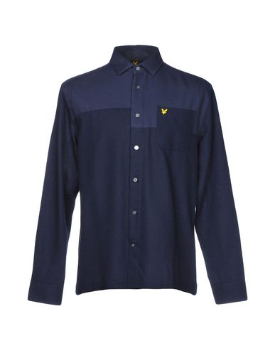 billig for salg Lyle & Scott Camisa Estampada klaring siste samlingene BvtFO8