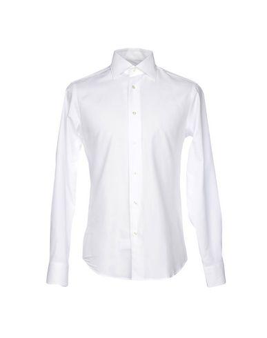 Couleur Unie Blanc Zanetti De Chemise qwAYc1Ex