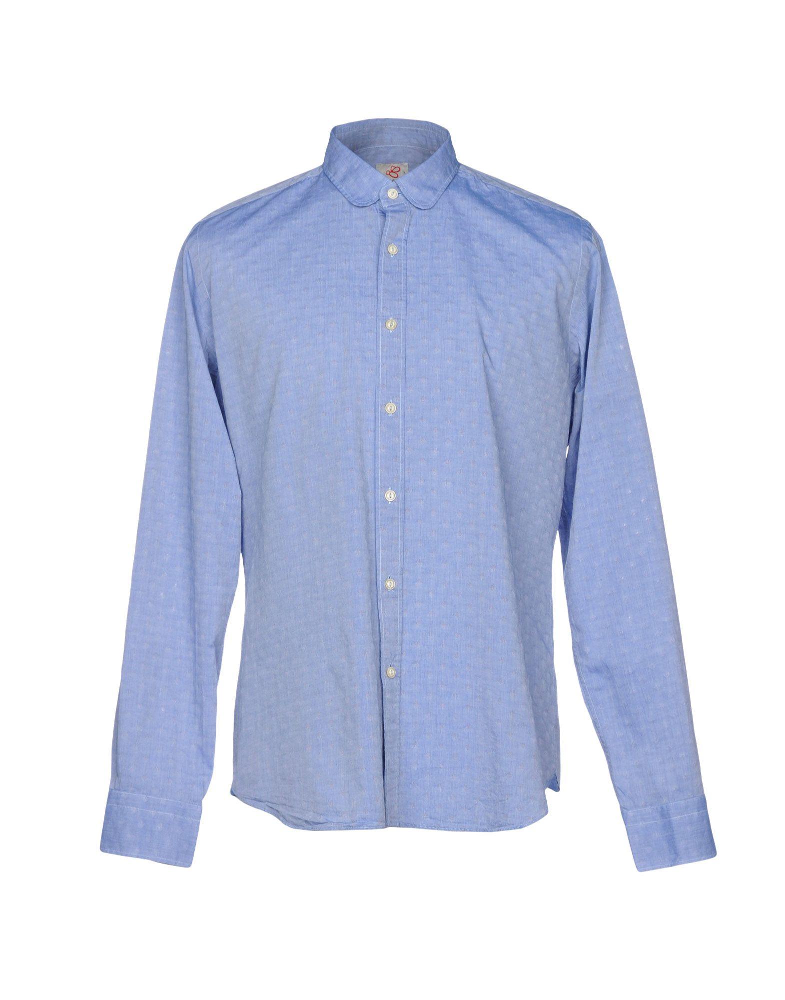 Camicia Tinta Unita Mosca herren - 38745636PT