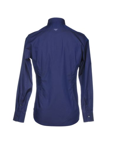 Unie De Couleur Foncé Chemise Ingram Bleu F4zOwO