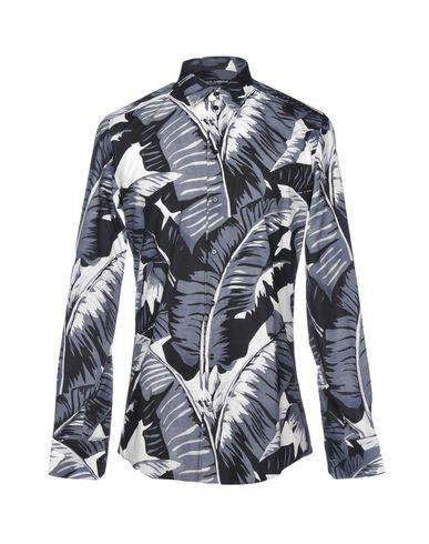 Verkauf 100% Authentisch DOLCE & GABBANA Hemd mit Muster Wirklich Billig Preis Countdown Paketverkauf Online t9gWgAWQ